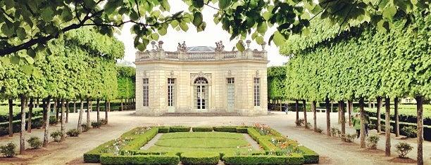 Petit Trianon is one of Château de Versailles.