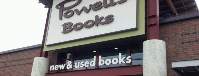 Powell's Books at Cedar Hills Crossing is one of My Saved Places.