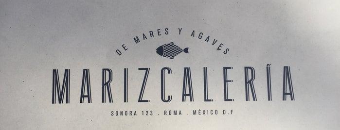 La Marizcalería is one of Condesa-Roma.