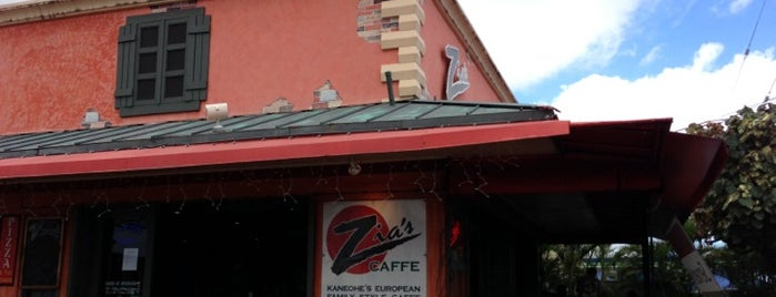 Zia's Caffe Kaneohe is one of Used to Be a Pizza Hut.