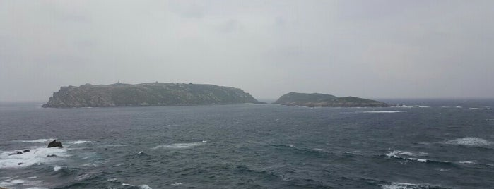 Illas Sisargas is one of Faros de Galicia.
