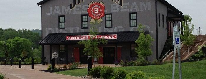 Jim Beam American Stillhouse is one of Kentucky Bourbon Trail.