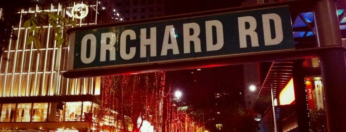 Orchard Road is one of i've been visited.