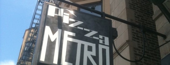 Pizza Metro is one of To-do eat.