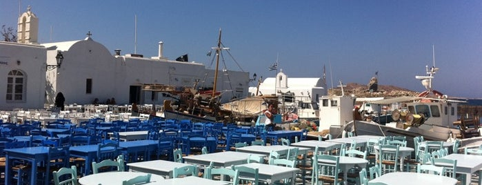 Naoussa is one of Paros Top.