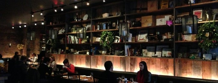 Restaurant Marc Forgione is one of manhattan restaurants.