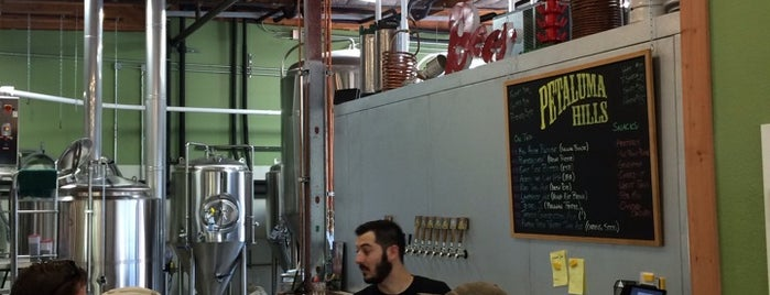 Petaluma Hills Brewing Company is one of SF Bay Area Brewpubs/Taprooms.