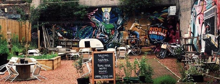 Siempre Bicycle Cafe is one of Top Coffee Joints.