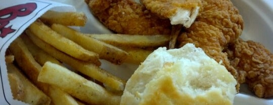 Bojangles' Famous Chicken 'n Biscuits is one of 20 favorite restaurants.
