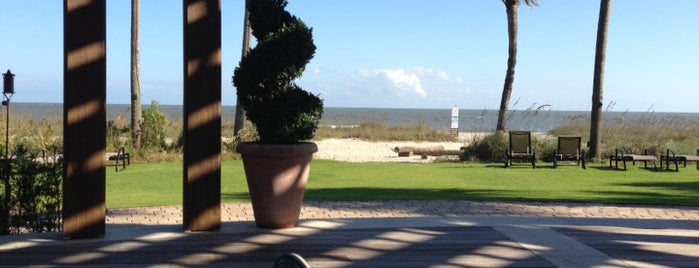 The Sea Island Beach Club is one of Georgia Beach Rentals.