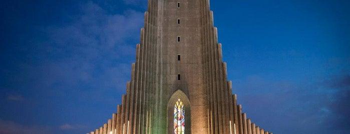 Church of Hallgrímur is one of Reykjavik.