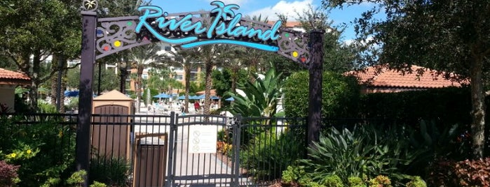 River Island At Orange Lake Resort is one of Places checked in too.