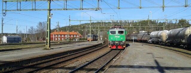 Långsele Station is one of Tågstationer - Sverige.