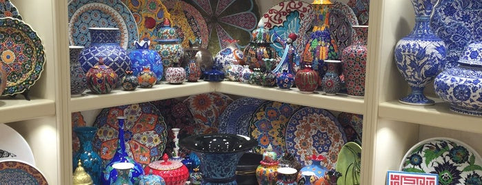 Iznik Works is one of Istanbul Shopping.