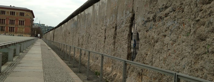 Berlin Wall Monument is one of Berlin.