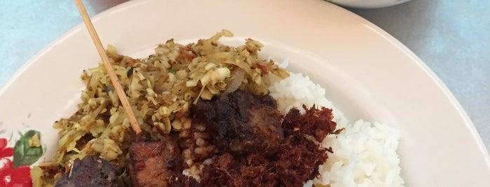 """Warung Nasi Bali Sari Mertha is one of Bali """"Jaan"""" Culinary."""