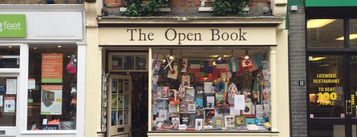 The Open Book is one of Guardian Recommended Independent Bookshops.