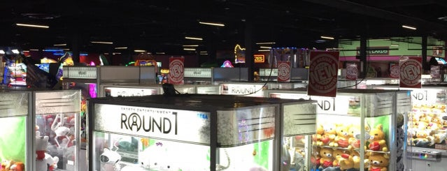 Round 1 Bowling & Amusement is one of Arcades.