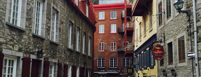 Quartier Vieux-Québec – Cap-Blanc – Colline-Parlementaire is one of Quelques lieux au Québec, Canada.