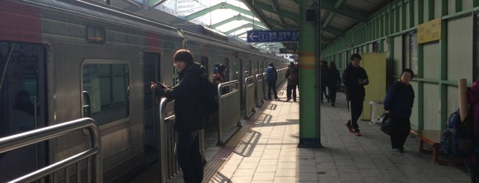 Nokcheon Stn. is one of Subway Stations in Seoul(line1~4 & DX).