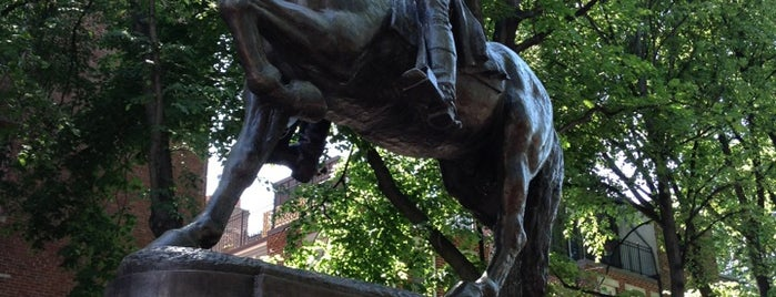 Paul Revere Statue is one of MASSACHUSETTS STATE - UNITED STATES OF AMERICA.