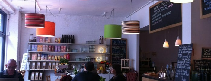 Foodlab By Mood For Food Ltd is one of Cafés with Wifi and Plugs.