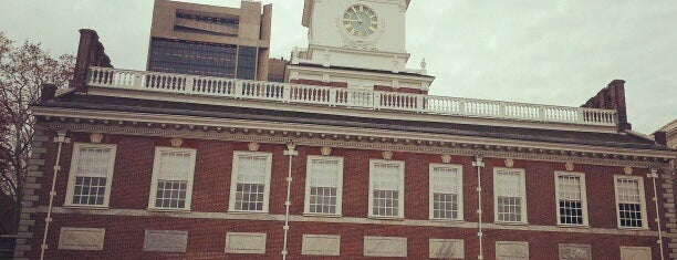 Independence Hall is one of Bucket List Places.