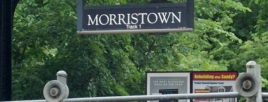 NJT - Morristown Station (M&E) is one of New Jersey Transit Train Stations I Have Been To.