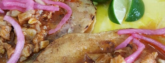 Tacos de Cochinita is one of Guía Changarreando del Reforma.
