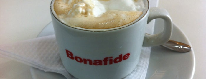 Bonafide is one of Cafeterias.