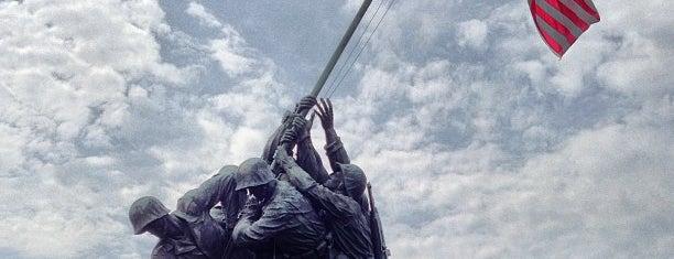 US Marine Corps War Memorial (Iwo Jima) is one of Outdoors.