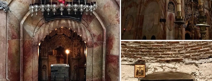 church of the holy sepulcher is one of Israel.