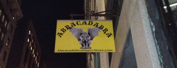 Abracadabra NYC is one of NYC Shopping.