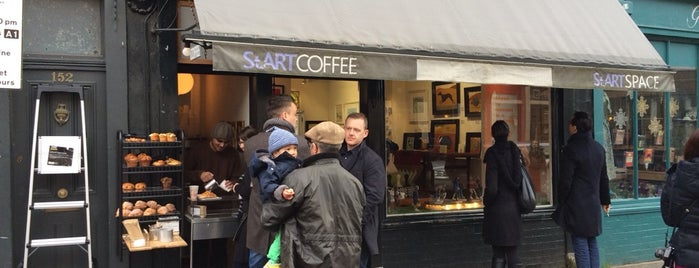 Start Space Coffee house is one of Specialty Coffee Shops Part 2 (London).