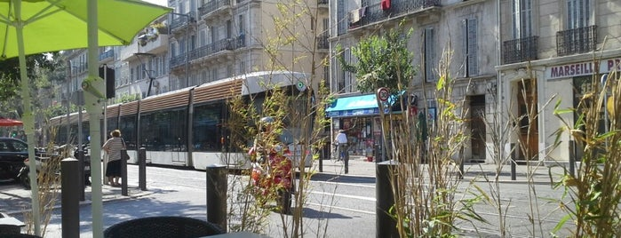 Station Camas [T1] is one of Tramway de Marseille.