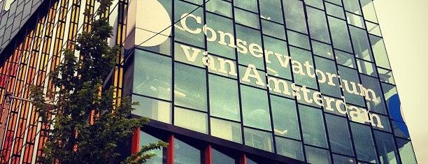 Conservatorium van Amsterdam is one of Amsterdam Architectural.