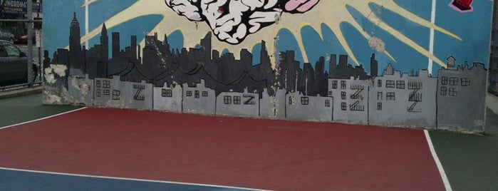 PS 145 Basketball Courts is one of Basketball Scout.