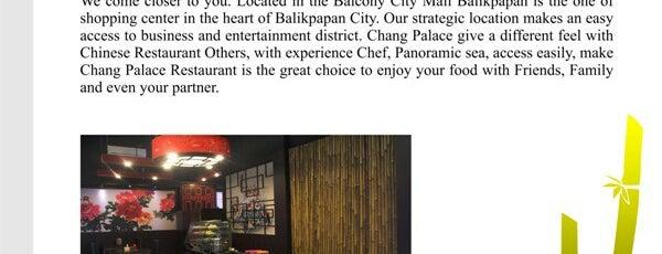 Chang Palace Restaurant ( New ) is one of BALIKPAPAN.