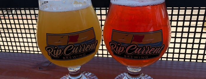 Rip Current Brewing is one of LAS/LAX/SAN.
