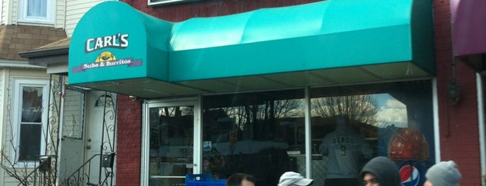 Carl's Steak Subs is one of Good Eats in New England.