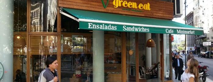 Green Eat is one of restos palermo y alrrededores.