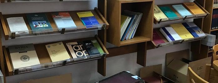 Türk Tarih Kurumu Kütüphanesi is one of Özledikçe gideyim - Ankara.