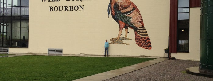 Wild Turkey Distillery is one of Kentucky Bourbon Trail.
