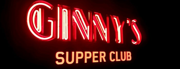 Ginny's Supper Club is one of SC/NY - Yet To EAT.