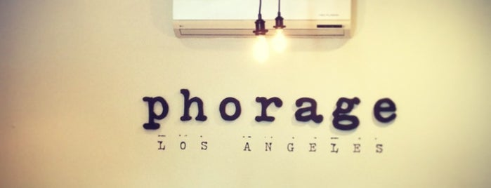 Phorage is one of The 15 Best Places for Pho in Los Angeles.