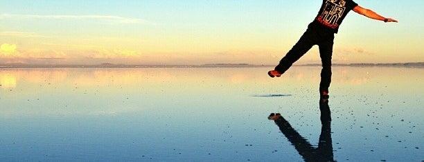 Salar de Uyuni is one of Dream Destinations.