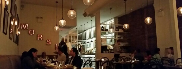 Gran Morsi is one of TriBeCa.