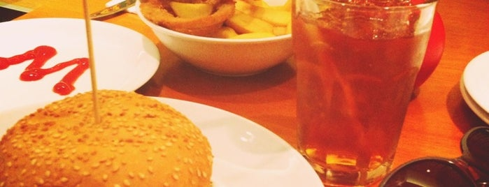 Gourmet Burger Kitchen (GBK) is one of Nice places.