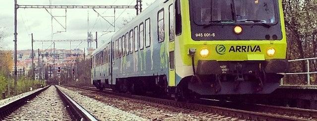 Železniční zastávka Praha-Vršovice depo is one of Železniční stanice ČR: P (9/14).