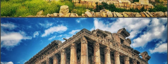 Baalbeck Ruins is one of Lebanon.